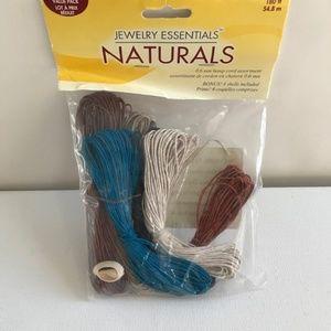 Jewelry Essentials Naturals Hemp Cord Assortment